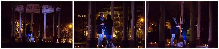 demande en mariage surprise au parc de l'orangerie - saint-valentin
